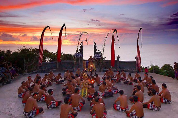 ples Kecak, Bali