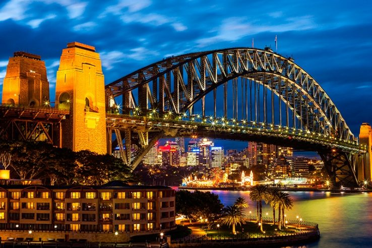 Sidnej Australija Lučki most