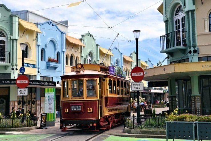 Christchurch tramvaj