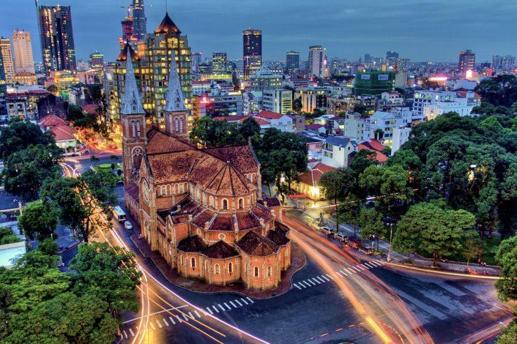 Katedrala, Ho Ši Min, Vijetnam