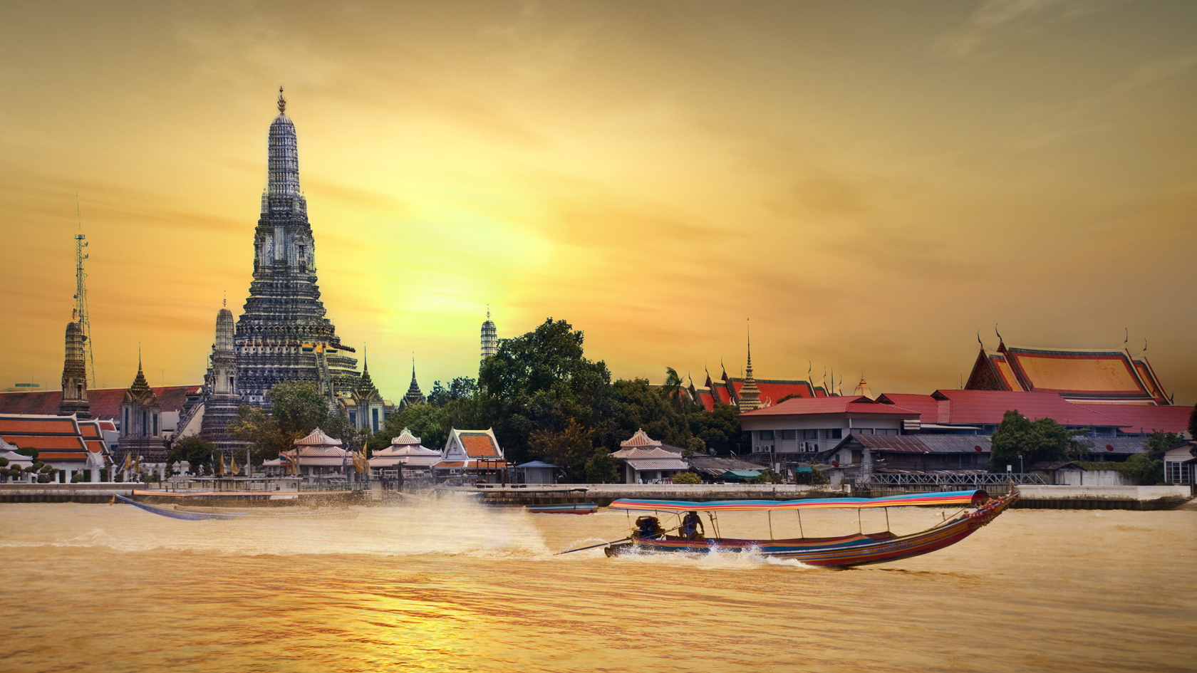 Bangkok-Čao Praja-Tajland