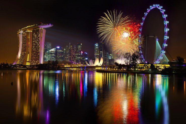 Singapur i Bali,  doček Nove 2018. godine